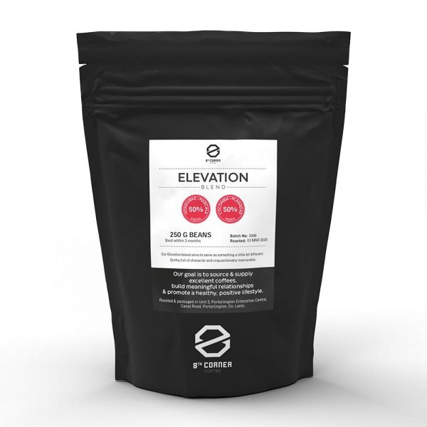8th corner specialty coffee elevation blend