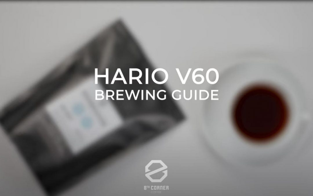 how to make coffee at home using the Hario V60