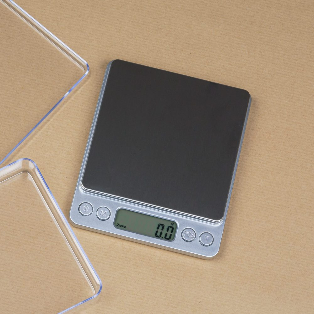 Pocket coffee scale